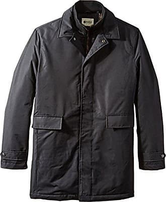 Haggar Mens Big-Tall Water Repellent Bib Front Shirt Collar Jacket, Black, 2X/Tall
