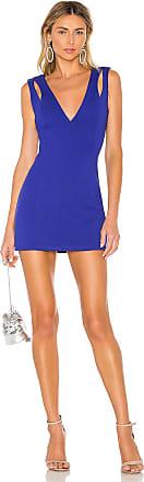 Superdown Connie Cut Out Dress in Blue
