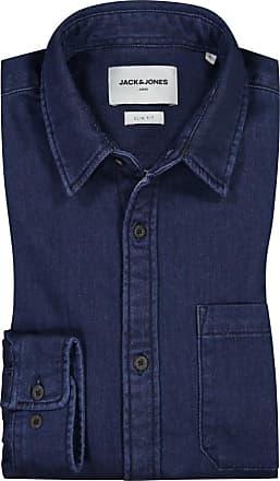 Jack & Jones Übergröße : Jack & Jones, Modisches Freizeithemd in Blau für Herren