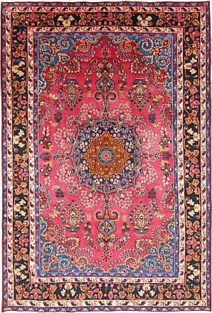 Nain Trading 314x209 Handknotted Khorasan Sabsewar Rug Dark Blue/Purple (Wool, Iran/Persia)