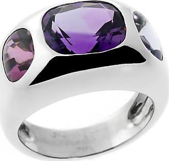 Chanel Gemstone White Gold Ring