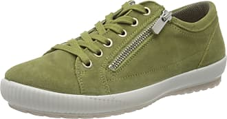 Legero Womens Tanaro Low-Top Sneakers, Green (Canapa (Grün) 71), 5 UK