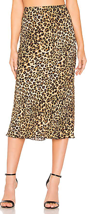 Nanushka Zarina Skirt in Brown