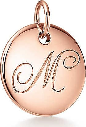 Tiffany & Co. Tiffany Charms alphabet charm in 18k rose gold, small Letters A-Z available - Size M