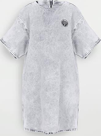 Maison Margiela Logo Denim T-shirt Dress