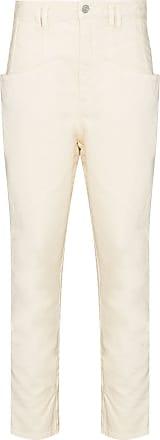 Isabel Marant Calça jeans Nadeloisa cintura alta - Neutro