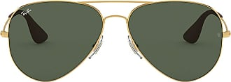 Ray-Ban Junior Unisexs Rb 3558 Sunglasses, Gold, 58
