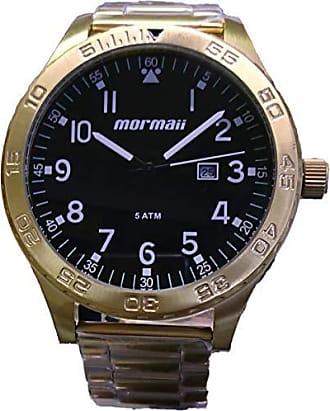 Mormaii Relógio Masculino Mormaii Dourado MO2115AN/4P
