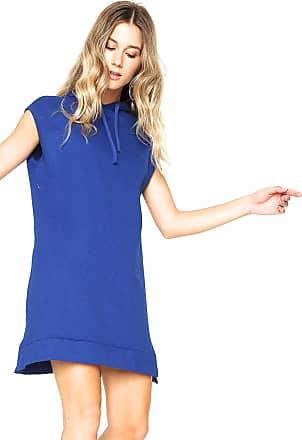 Calvin Klein Jeans Vestido Calvin Klein Jeans Curto Capuz Azul 697102579e