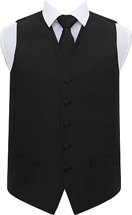 DQT Satin Plain Solid Baby Pink Mens Wedding Waistcoat /& Cravat Set