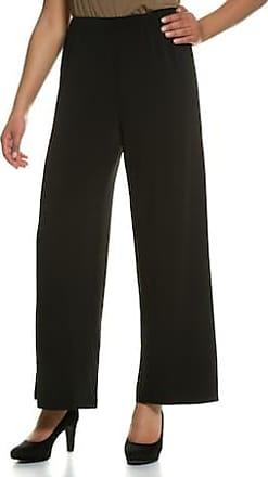 e1338789e04177 Ulla Popken Jerseyhose Damen Größe 50 52, schwarz, Mode in große Größen