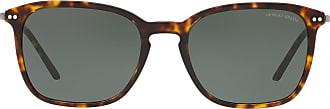 Giorgio Armani tortoiseshell sunglasses - Marrom