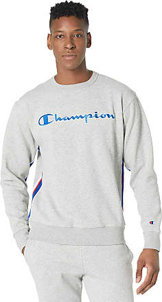 Champion Mens Powerblend Fleece Crew With Taping
