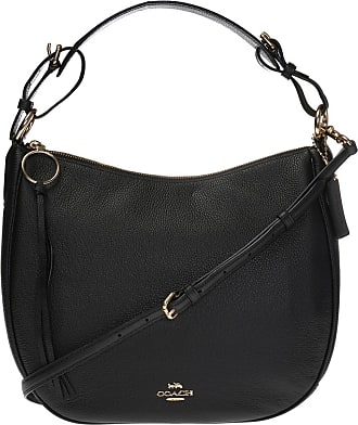 Coach Sutton Hobo Shoulder Bag Womens Black