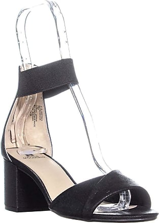 White Mountain Womens Ever Fabric Open Toe Special, Black/Met/Fab, Size 11.0 US US