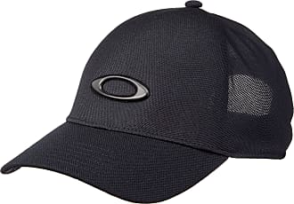 Oakley Mens ONE Touch Match Ellipse Hat, Blackout, X-Large