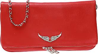 Zadig & Voltaire Leather Shoulder Bag Womens Red