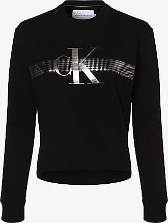 Calvin Klein Jeans Damen Sweatshirt schwarz