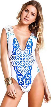 Empress Brasil Body Empress Brasil Sahara Estampa Azulejo Azul