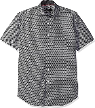 Essentials Stain /& Wrinkle-Resistant Short-Sleeve Coverall Uomo