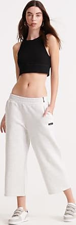 Superdry Edit Wide Leg Cropped Loopback Joggers