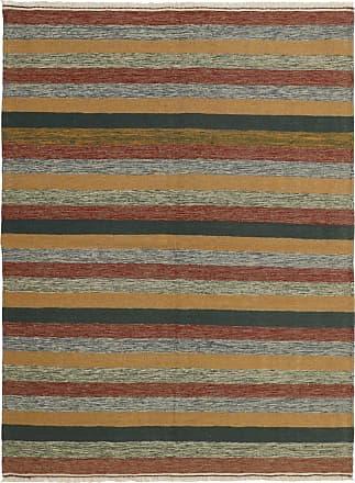 Nain Trading 204x148 Hand Woven Kilim Fars Dark Grey/Brown (Wool, Iran/Persia)