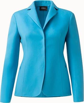 Akris Cashmere Double Face Jacket with Lapel Collar