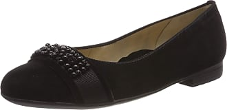 Ara Womens Sardinia 1231320 Closed Toe Ballet Flats, Black 01, 8.5 UK