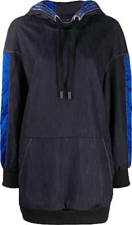 No Ka'Oi denim hoodie jacket - Blue