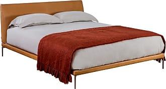 ZANOTTA Design Talamo Bed in William Leather King Size
