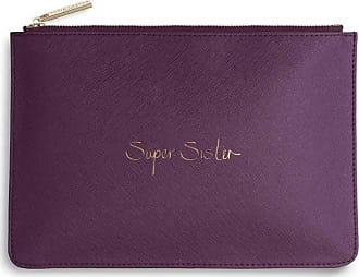 Katie Loxton Perfect Pouch - Super Sister - Purple Berry(Size: One Size)