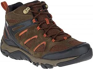 Merrell Mens Outmost Mid Vent Waterproof Hiking Boots