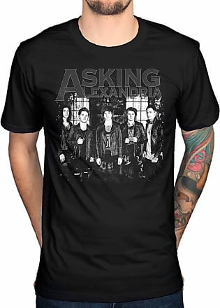 AWDIP Official Asking Alexandria Group T-Shirt Black