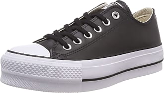 00b40faa1bc Converse Womens Chuck Taylor All Star Lift Clean Low-Top Sneakers