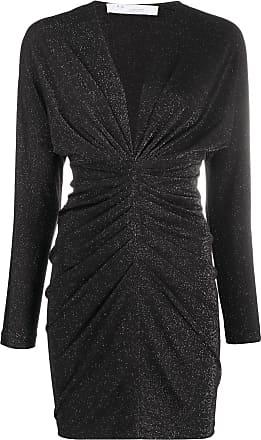 Iro shimmer gathered dress - Black