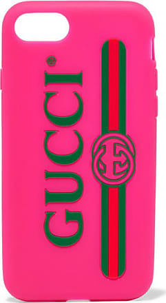 Gucci Silicone Iphone 7 Case - Pink