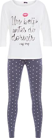 Any Any Pijama Um Beijo Any Any - Off White