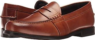 4693f111d2a Nunn Bush Noah Beef Roll Penny Loafer (Cognac) Mens Slip-on Dress Shoes