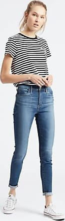 Levi's 720 High Waisted Super Skinny Jeans - Blue