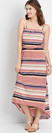 Maurices Stripe Tube Top Maxi Dress