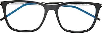 Saint Laurent Eyewear Armação de óculos redonda - Preto