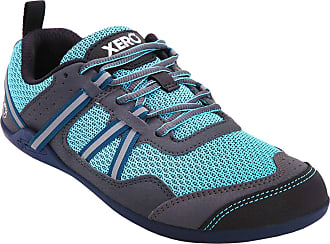 Xero Shoes Prio - Womens Minimalist Barefoot Trail and Road Running Shoe - Fitness, Athletic Zero Drop Sneaker Blue Size: 8.5 Wide