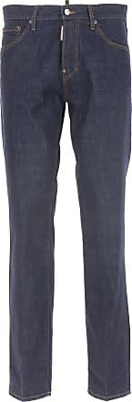 Dsquared2 Jeans On Sale in Outlet, Dark Blue Denim, Cotton, 2019, 30 32 34 38