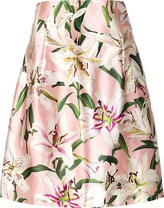 Dolce & Gabbana Saia floral - Rosa