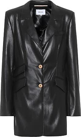 Nanushka Cancun faux-leather blazer