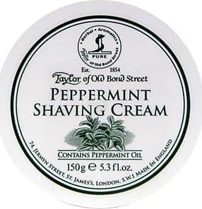 Taylor of Old Bond Street Shaving care Peppermint Shaving Cream 150 g