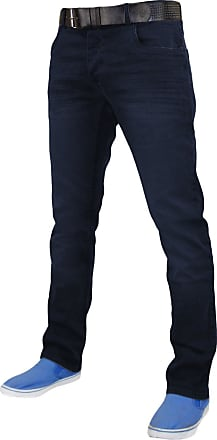 Crosshatch Mens Mens New Jenson Denim Jeans in Dark Blue - 40S