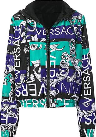 9482c3a204da Versace Jeans Couture veste à imprimé baroque - Noir