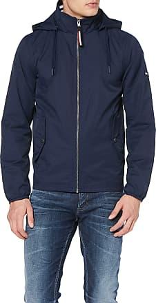 Tommy Jeans Mens TJM Essential Hooded Jacket, Blue (Black Iris 002), Small
