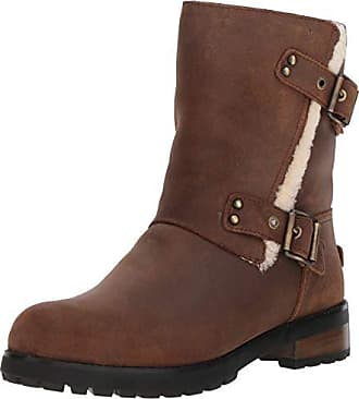 7b9994eb7fd Women's UGG® Leather Boots: Now up to −31% | Stylight